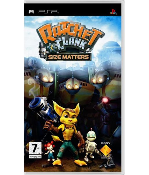 Ratchet and Clank: Size Matters [Русская документация] (PSP)